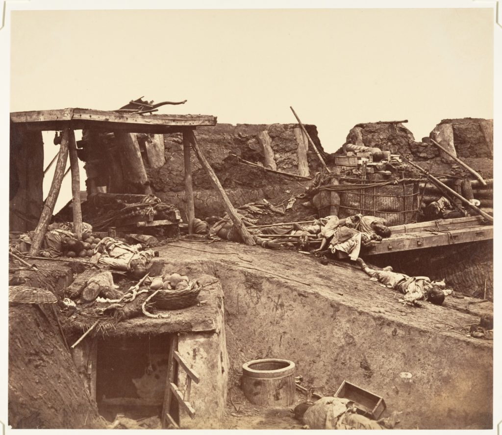 [After the Capture of the Taku Forts]