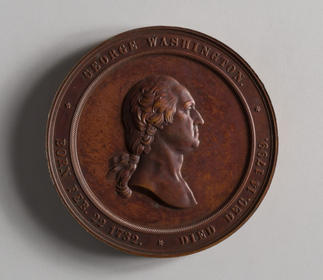 Inauguration of the Washington Cabinet of Medals
