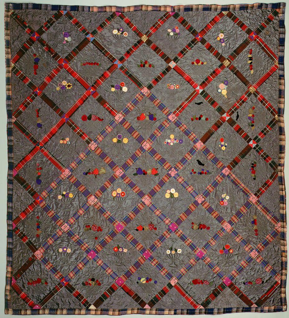 Quilt, Fruit Baskets pattern
