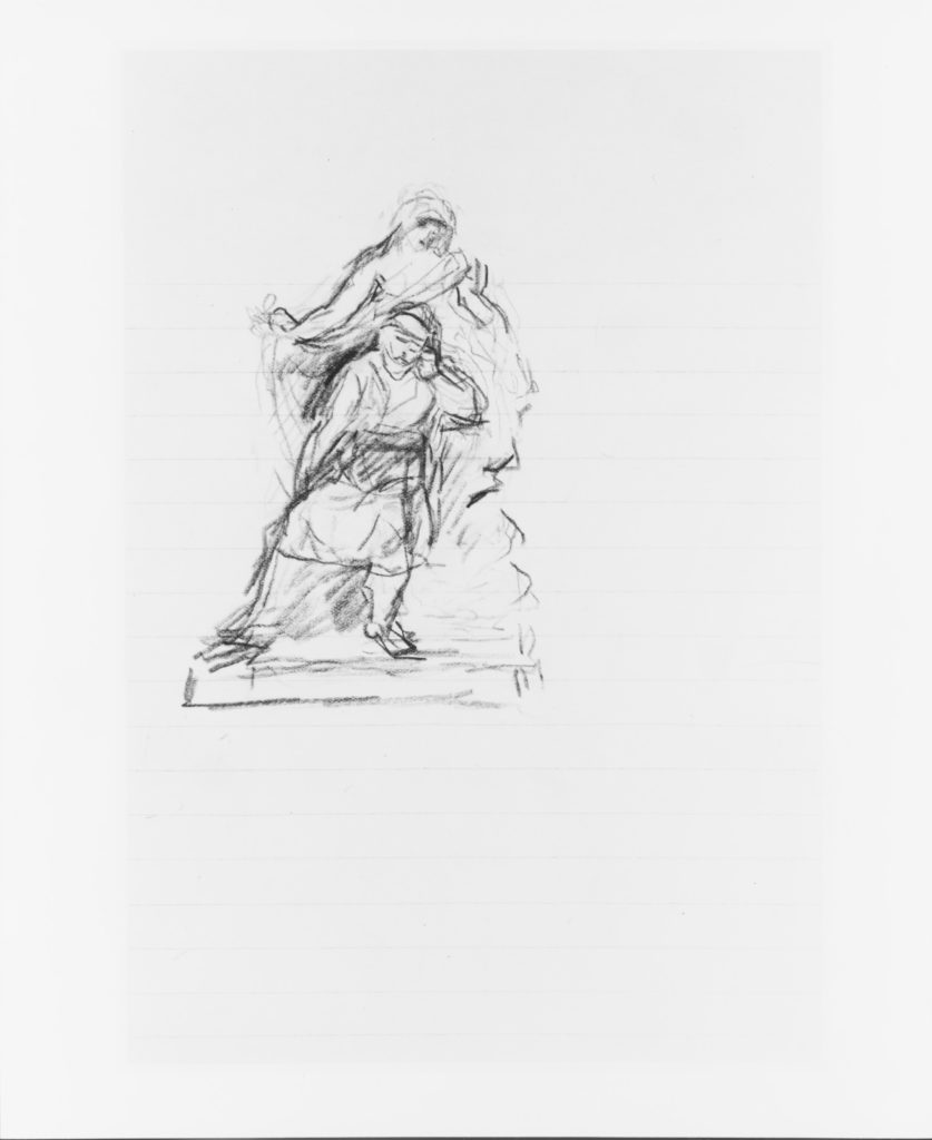 Study for a Memorial (from Sketchbook)