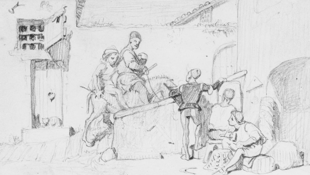 The Fable of the Miller, His Son and the Donkey  No. 5
