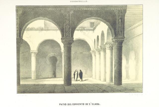 """Architecture from """"Viaje de SS. MM. y AA. por Castilla, Leon, Asturias y Galicia, verificado en el verano de 1858"""""""