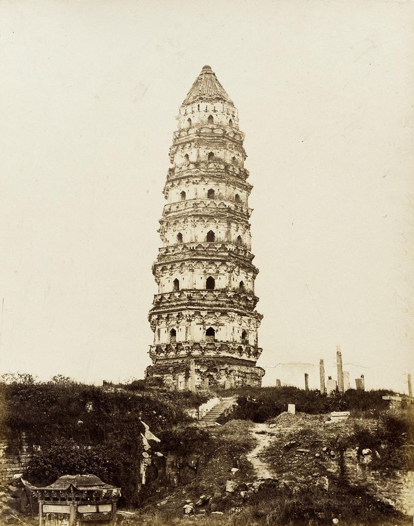Cantonese Masonry Pagoda