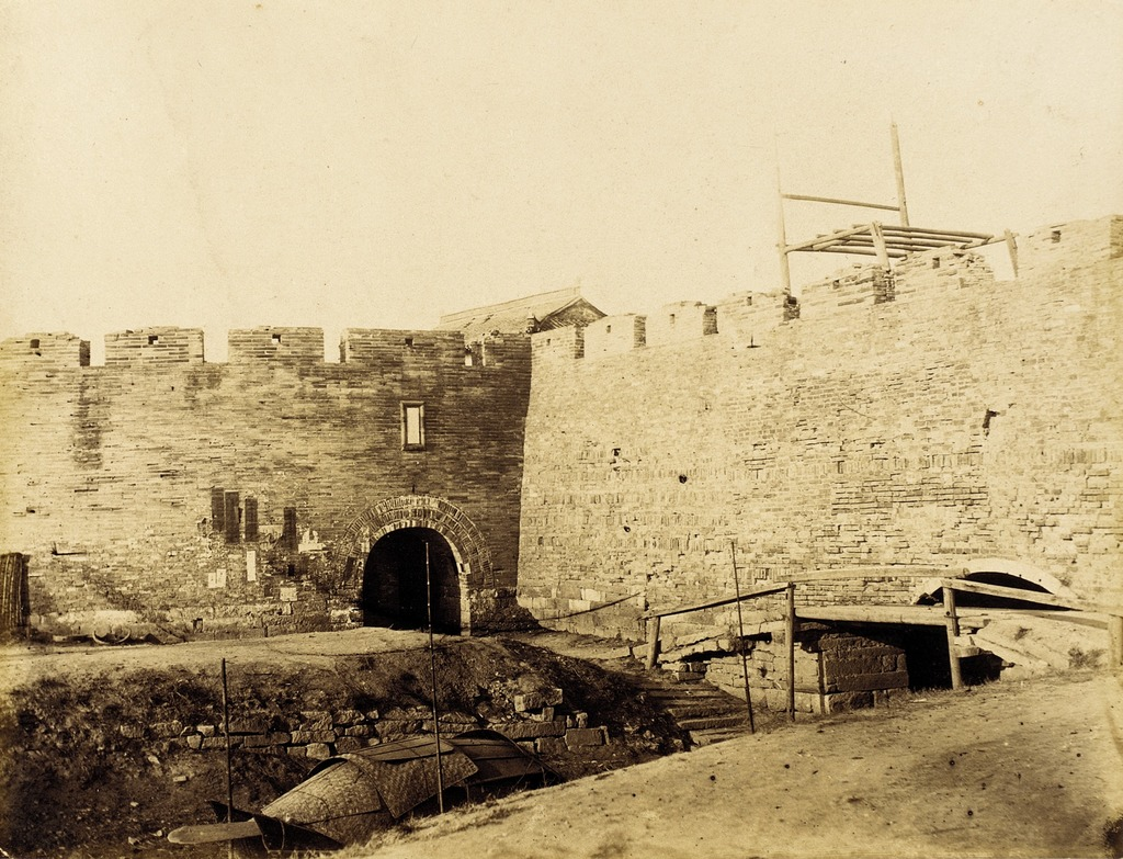 Fortified Walls with Canal