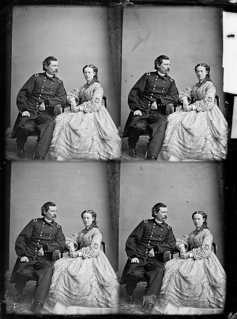Gen. Louis D. Watkins and wife