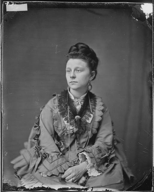 Miss Clara Harris (Married Major Rathbone)