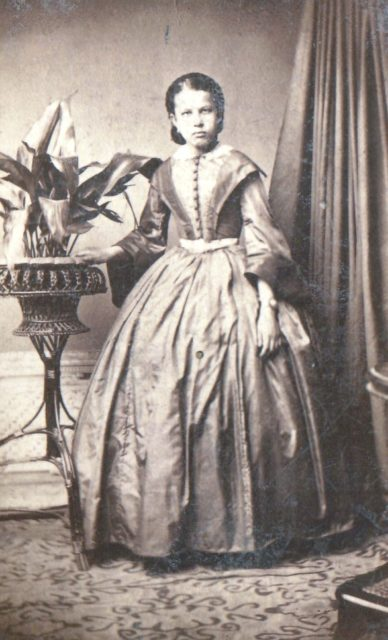 Murom. Female portrait. 1850-1860
