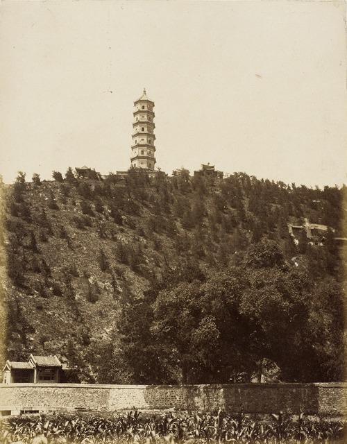 Pagoda at Old Summer Palace, Yu-chuan Shan, Jade Spring Hill