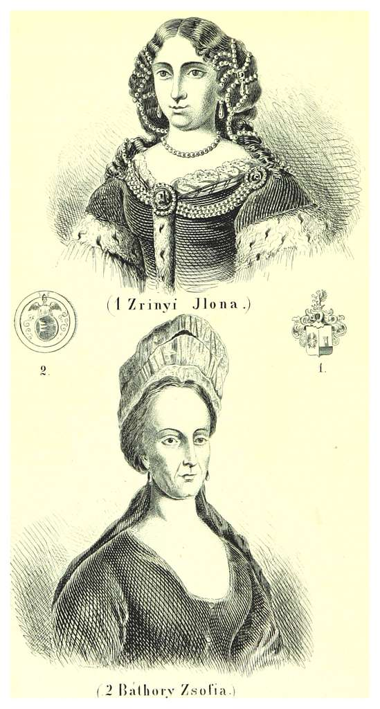 TA(1860)pg064 Zrínyi Ilona, Báthory Zsófia