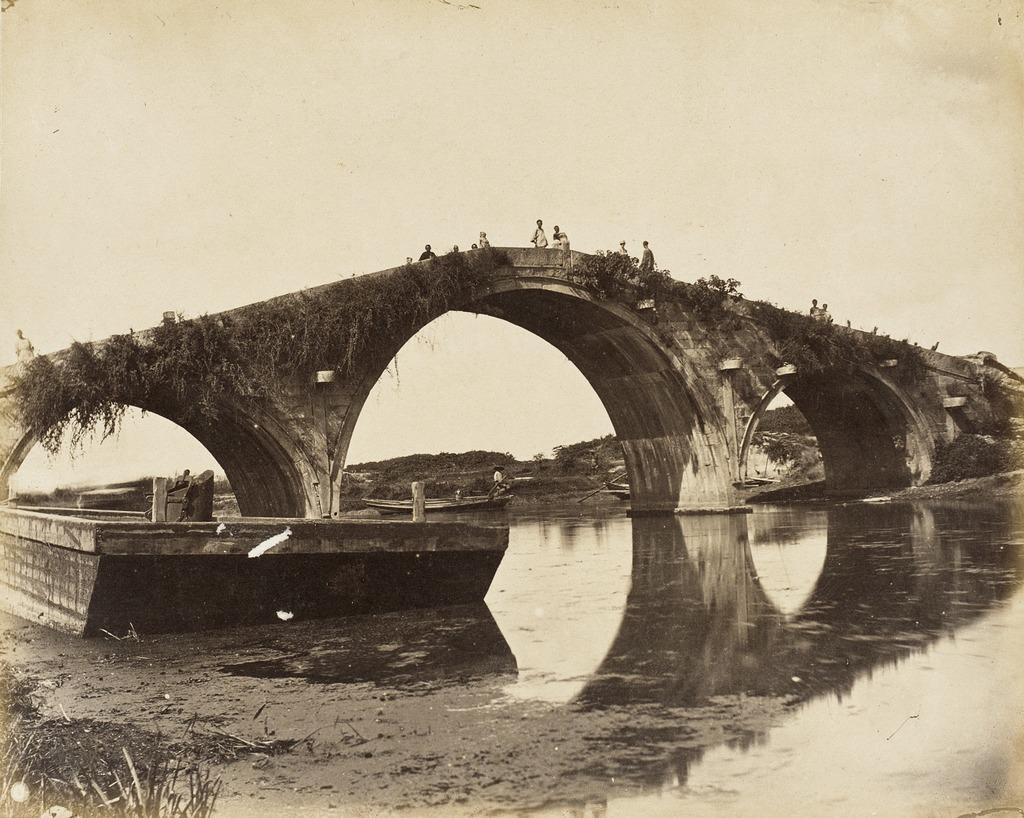 Three-arched Stone Bridge, S. China