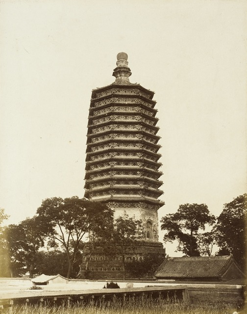 T'ien-ning Ssu T'a Pagoda, Peking