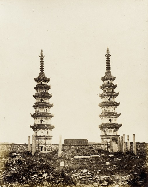Twin Pagodas, Southern Sung Style