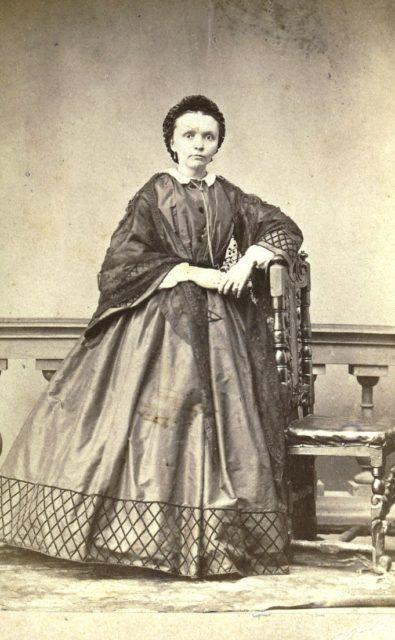 Woman Portrait, Murom, Russia 1850-1860