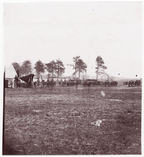 Artillery Camp, City Point, Virginia