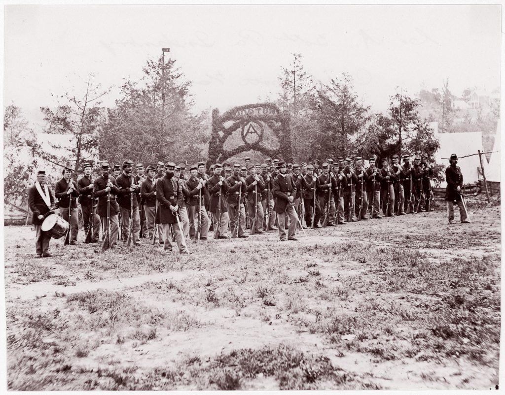 Co. A, 30th Pennsylvania Infantry, Camp Mott Hooton