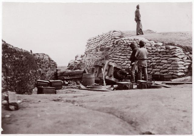 Confederate Fortifications, Yorktown, Virginia