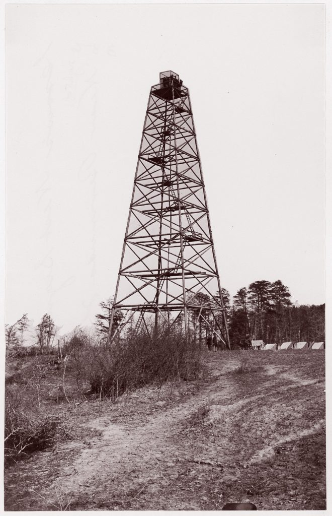 Crow's Nest Signal Tower near Bermuda Hundred