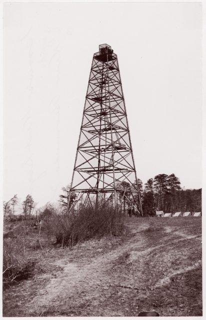 Crow's Nest Signal Tower near Bermuda Hundred