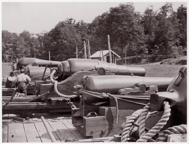 Land Battery of Naval Guns