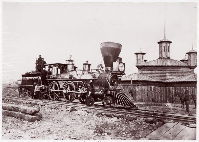 Locomotive #133, U.S.M.R.R.
