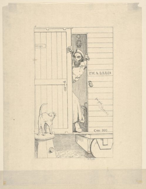 Passage Through Baltimore (from Confederate War Etchings)