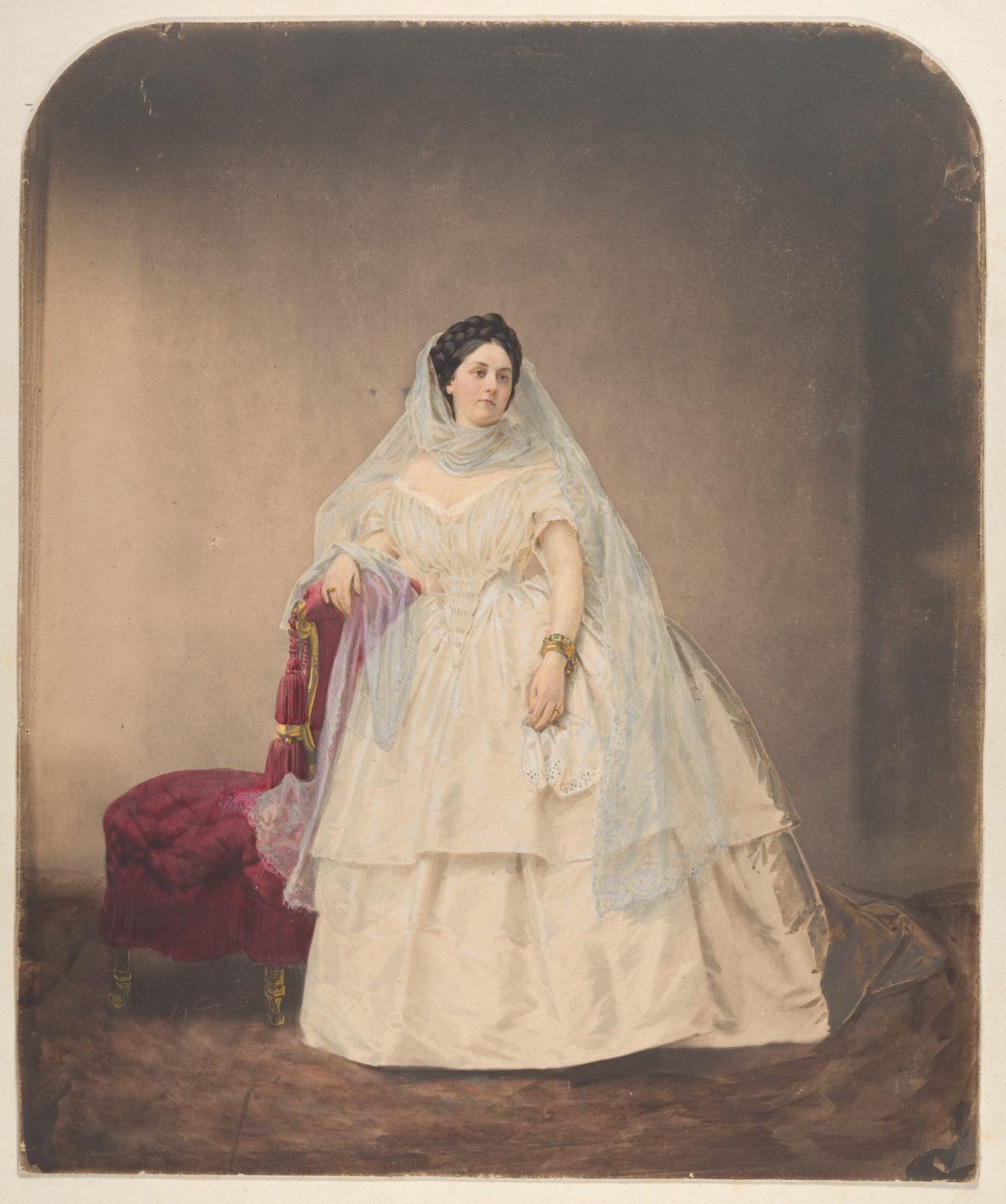 [Portrait in a White Dress]