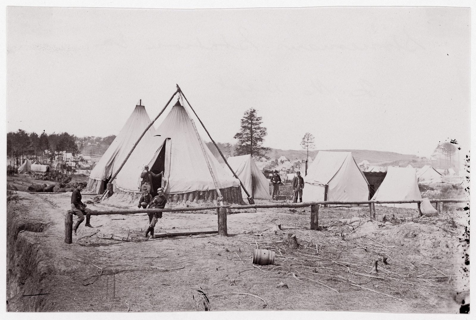 Stoneman's Station, Virginia. Quartermaster Dept.