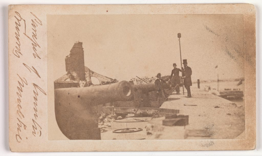 The Evacuation of Fort Sumter