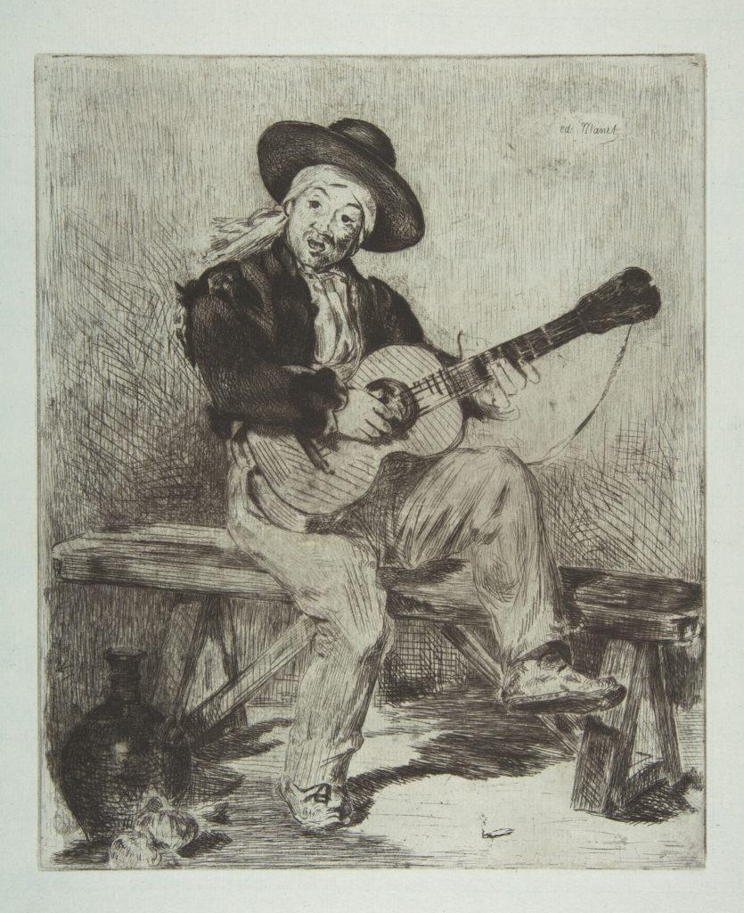 The Spanish Singer (Le Guitarrero)
