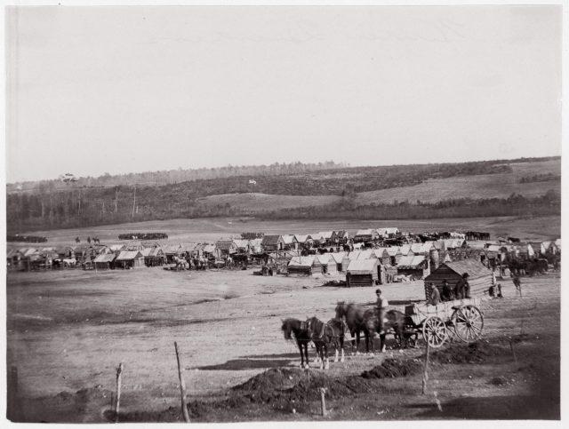 Union Cavalry Winter Quarters