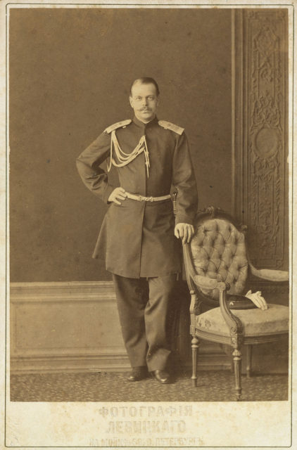Tsarevich Alexander - future Alexander III, the Emperor of Russia, King of Poland, and Grand Duke of Finland