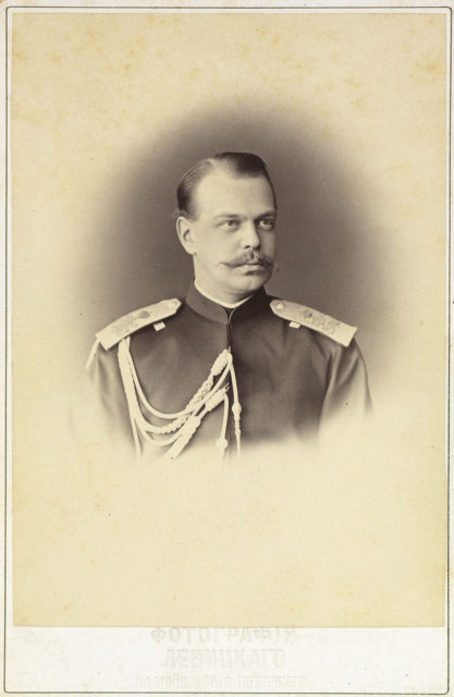 Tsarevich Alexander III, the Emperor of Russia, King of Poland, and Grand Duke of Finland