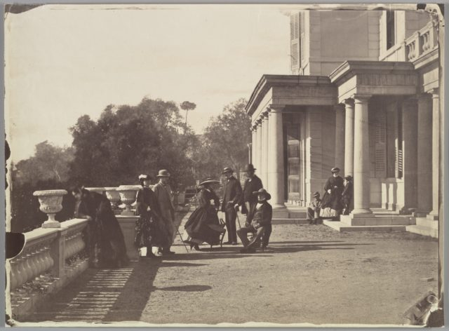 [Lord Brougham and his Family, Cannes]