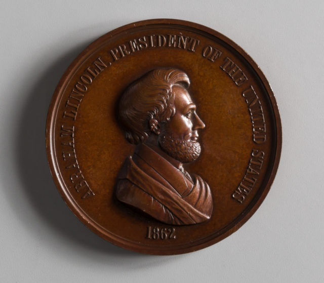 President Lincoln's Inauguration Medal