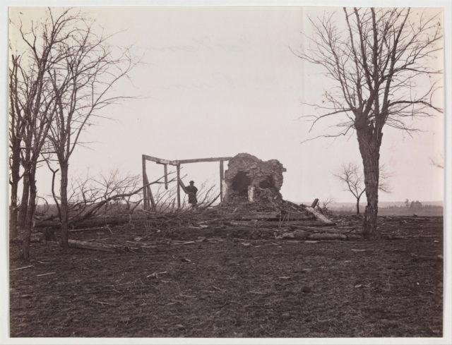 Ruins of Mrs. Henry's House, Battlefield of Bull Run