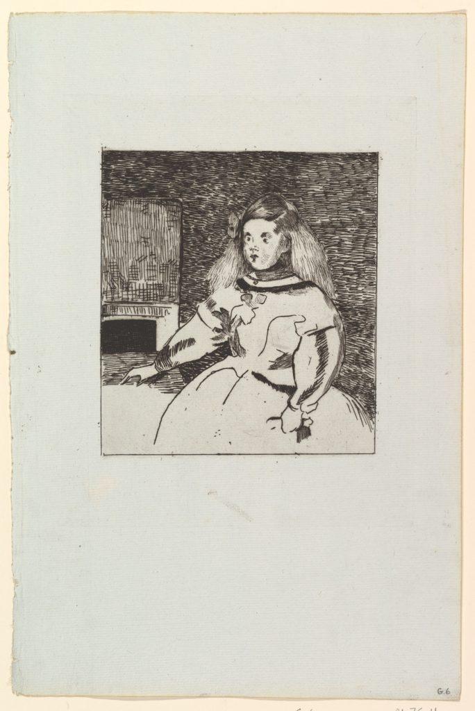 The Infanta Marguerita after Velázquez
