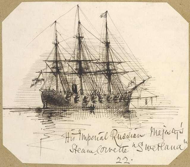 George Gordon McCrae.His Imperial Russin Majesty's steamcorvette Svetlana.22