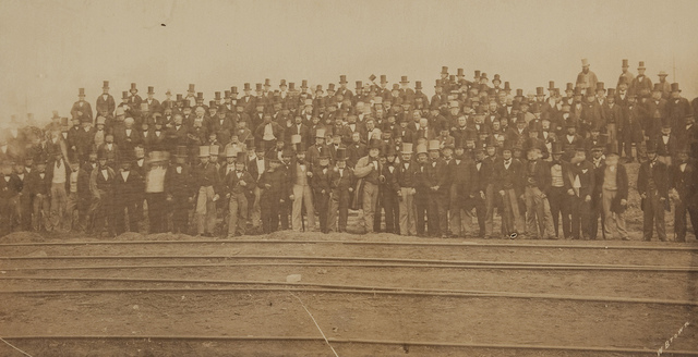 Photograph of Vestrymen and Visitors, July 14th 1862