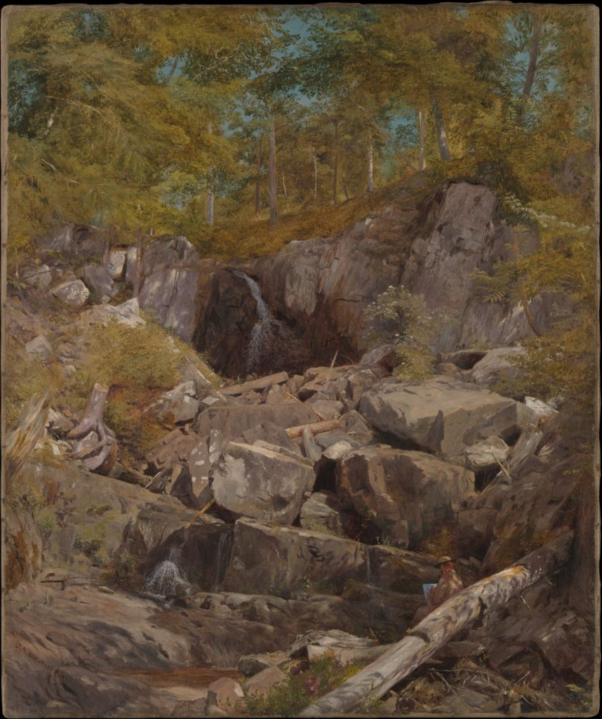 A Study of Trap Rock (Buttermilk Falls)