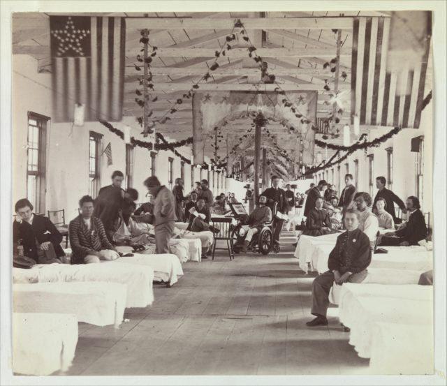 Armory Square Hospital, Washington