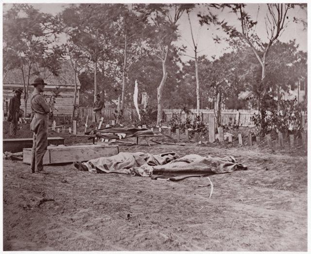 Burial of the Dead, Fredericksburg