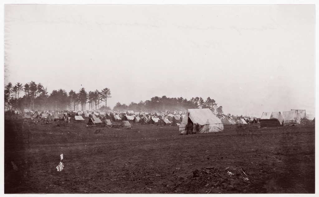 Camp near Brandy Station