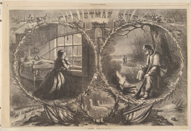 Christmas Eve, 1862 (from Harper's Weekly)