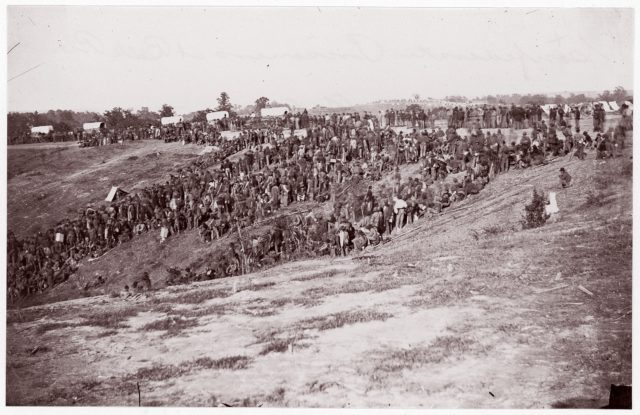 Confederate Prisoners at Belle Plain