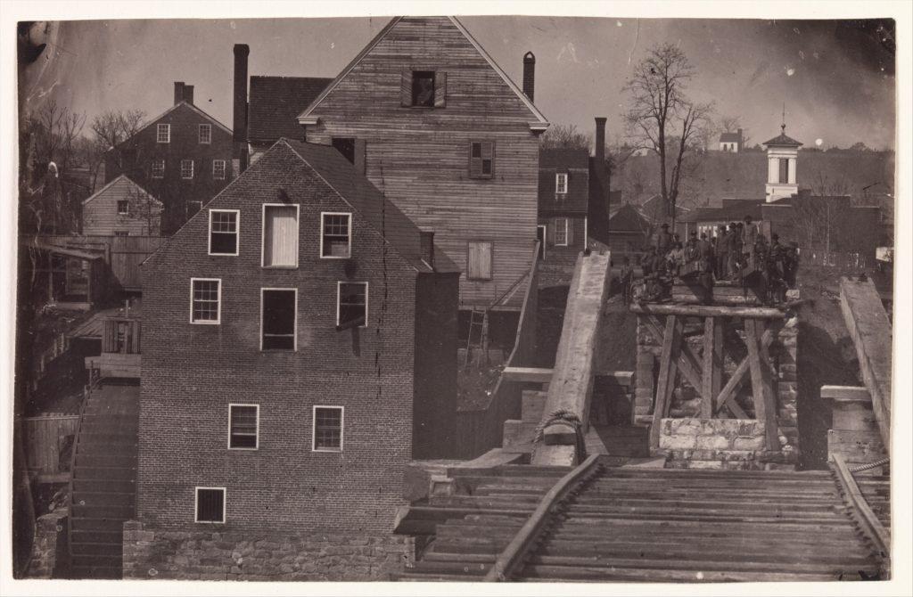 End of the Bridge after Burnside's Attack, Fredericksburg, Virginia