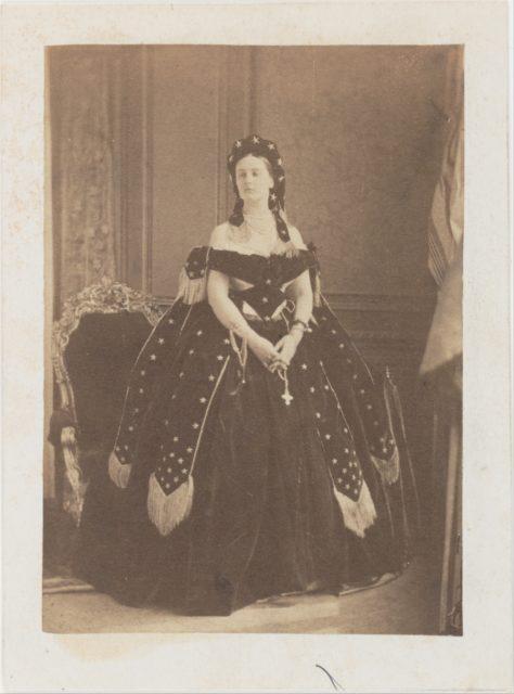 La Comtesse de Castiglione en Reine de la Nuit