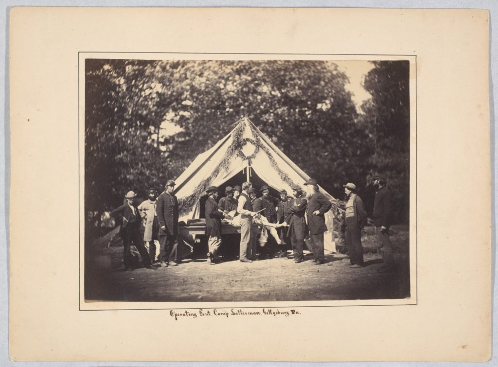 Operating Tent, Camp Letterman, Gettysburg, Pennsylvania