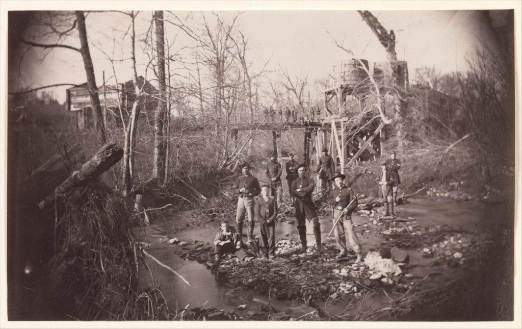 [Orange and Alexandria Railroad Bridge, near Union Mills, Virginia]