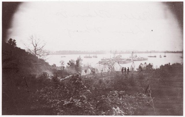 Belle Plain, Virginia. Lower Wharf