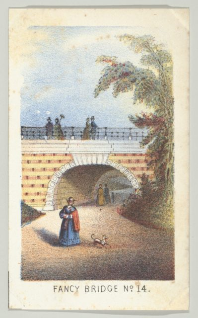 Fancy Bridge No. 14, from the series, Views in Central Park, New York, Part 3